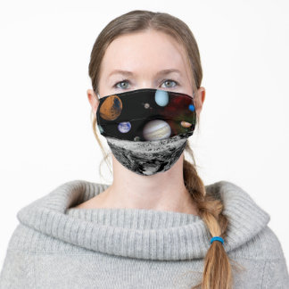 Astronomy Planets Outer Space Lover Adult Cloth Face Mask