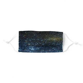 Astronomy Science Sky Shining Stars Adult Cloth Face Mask