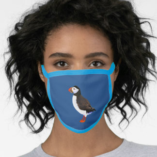 Atlantic Puffin Face Mask