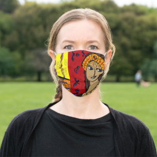 AUGUSTIN - BE YOUR OWN ART ADULT CLOTH FACE MASK