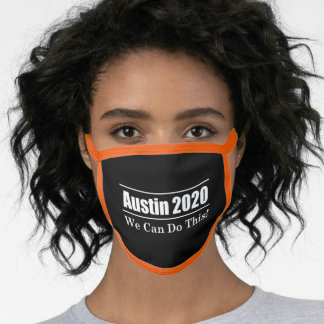 Austin 2020 We Can Do This COVID Face Mask