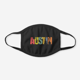 Austin Texas Music Decorative Cotton Face Mask