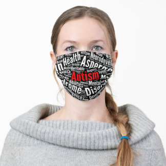 Autism Awareness Mask