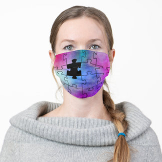 Autism Missing Piece Adult Cloth Face Mask