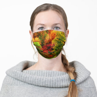 AUTUMN IN THE FOREST ADULT CLOTH FACE MASK