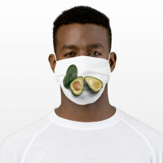 Avocado Adult Cloth Face Mask