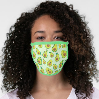Avocado Happiness All-Over Print Face Mask