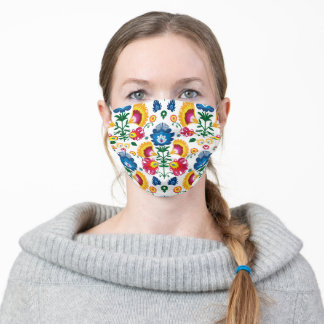 Awesome pattern inspired by folklore adult cloth face mask