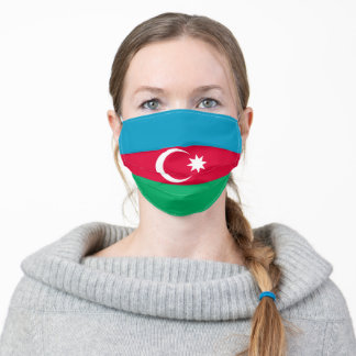 Azerbaijan flag & Azerbaijan fashion /sports mask