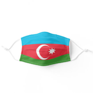 Azerbaijan Flag Cloth Face Mask