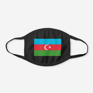 Azerbaijan Flag Cotton Face Mask