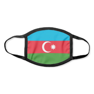 Azerbaijan Flag Face Mask