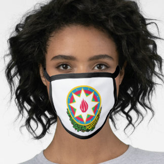 Azerbaijani coat of arms face mask