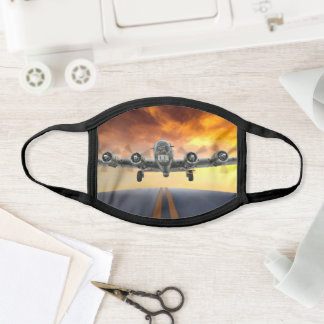 B-17 FLYING FORTRESS TAKEOFF FACE MASK