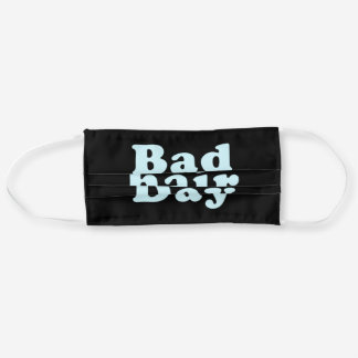 Bad Day Ugly Hair Haircut Hairstyle Adult Cloth Face Mask