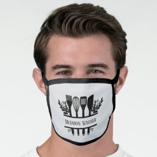Bakery add name Business Face Mask