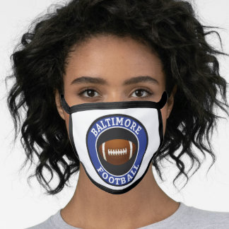 Baltimore American Football College University Face Mask