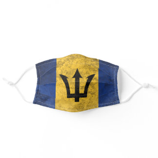 Barbados Adult Cloth Face Mask