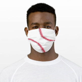 Baseball Adult Cloth Face Mask