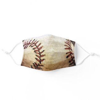 Baseball Artwork Sports Image Adult Cloth Face Mask