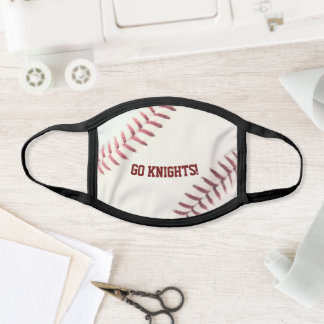 Baseball Look Personalized Face Mask
