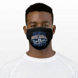 Baseball Mother Adult Cloth Face Mask