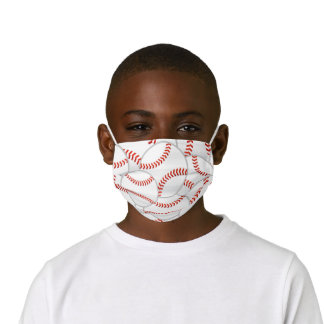 Baseballs! Kids' Cloth Face Mask