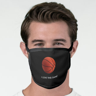 Basketball All-Over Print Face Mask