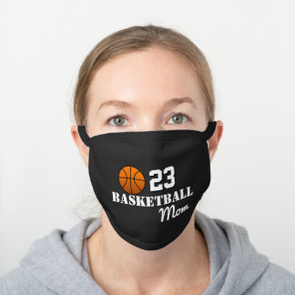 Basketball Mom Gifts Black Cotton Face Mask