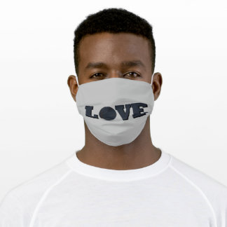 basketball vintage style adult cloth face mask