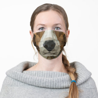 Basset Hound Face Mask