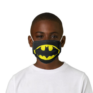 Batman Symbol | Bat Oval Logo Kids' Cloth Face Mask