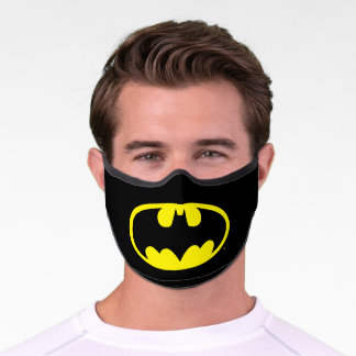 Batman Symbol | Bat Oval Logo Premium Face Mask