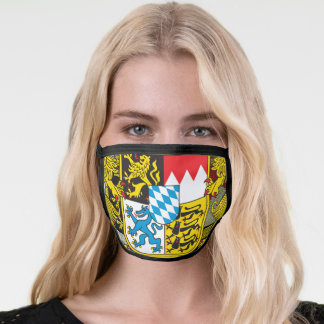 Bayern...Coat of Arms of Bavaria Face Mask