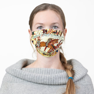 Bayeux Tapestry Death of Harold Adult Cloth Face Mask