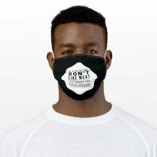 BBQ Butcher Grill Adult Cloth Face Mask
