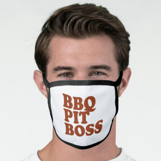 BBQ Pit Boss Face Mask