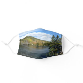 Bear Lake at Rocky Mountain National Park Adult Cloth Face Mask