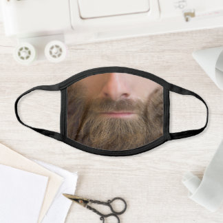 Beard Man Mouth Gen Gentlemen Face Mask
