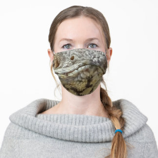 Bearded Dragon Adult Cloth Face Mask