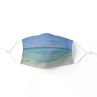 Beautiful Beach Adult Cloth Face Mask