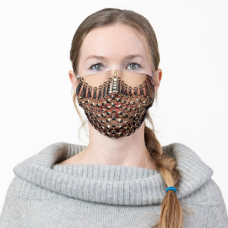 Beautiful Belly Dancer Woman Adult Cloth Face Mask