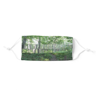 Beautiful Day In The Forest Adult Cloth Face Mask