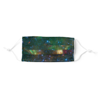 Beautiful Sky Universe Space Science Adult Cloth Face Mask