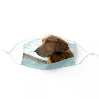 Beautiful Thoughtful Dog Lover's Adult Cloth Face Mask