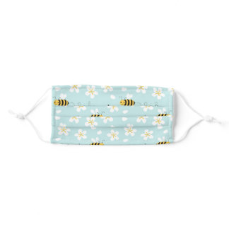 Bee Nice Adult Cloth Face Mask