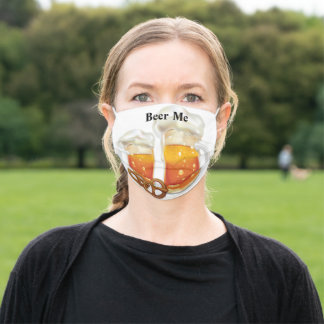 Beer Me Adult Cloth Face Mask