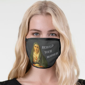 Behold Your Mother of Sorrows Face Mask