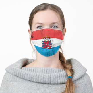 Belgian Luxembourg Adult Cloth Face Mask