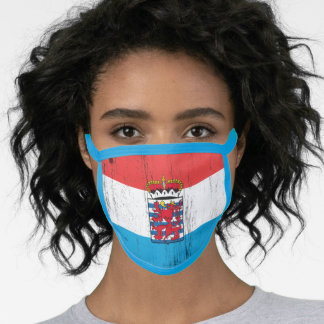 Belgian Luxembourg Face Mask